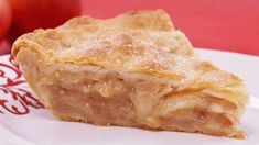Apple pie. Made for Hubby's bday 11.7.15.  Easy and tasty!  Used Red Delicious, Mango? variety of apple, and Granny smith.