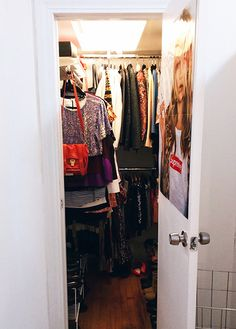 How To Clean Out Your Closet The KonMari Way: What I Learned An Epic New Year's Purge : Lucky Magazine