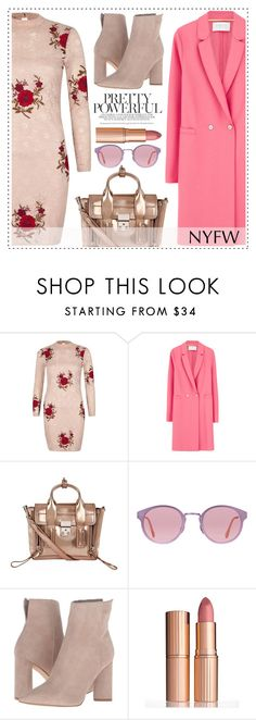 """""""Pack for NYFW"""" by alaria on Polyvore featuring River Island, Harris Wharf London, 3.1 Phillip Lim, RetroSuperFuture, Kendall + Kylie, Charlotte Tilbury and NYFW"""