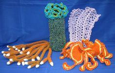 The Gainesville Florida Reef crochet patterns.