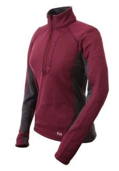 Rab - PS Ziptop Jacket Womens - LG - Crush by RAB. $49.99. fleece. This fast wicking and quick drying Polartec Power Stretch top is designed as a midlayer or warm base layer for all high energy mountain activities.