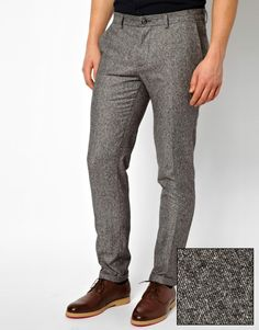 United Colors Of Benetton Slim Fit Trouser With Turn Up