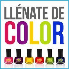 Llénate de color con los nuevos esmaltes de Jafra U.