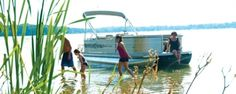 Cypress Cay Pontoons Cabana 200 is best boat for parties.