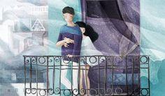 pareja en el balcón (Copy)