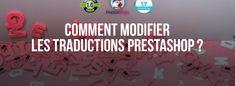 Comment modifier les traductions des textes sous PrestaShop ? Ecommerce, Wordpress, About Me Blog, Texts, E Commerce