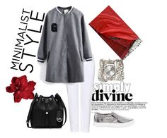 """#mydailyfashion#sultankurtay"" by sultankurtay on Polyvore featuring J Brand, White House Black Market, Sara Designs and MICHAEL Michael Kors"