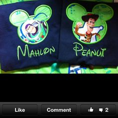 Great idea for the kids to wear to our trip to Disney next year