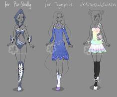 Custom Outfits #8 by Nahemii-san.deviantart.com on @DeviantArt