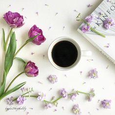 coffee, flowers and kinfolk,