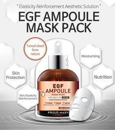 PROUD MARY EGF Ampoule Mask Gesichtsmaske  - Luxusskincare-Shop f. hochwertige asiatische Kosmetik & Pflegeprodukte