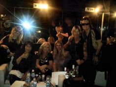 Gabi Hughes ~ Gene and Shannon Simmons ~ Susan and Duff McKagan ~ Glenn Hughes in Buenos Aires, Argentina