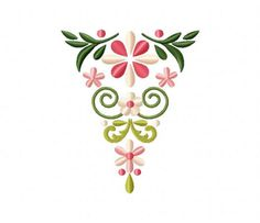 Triangle Floral Bunting (Z)-5_5