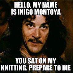 Crocheting* lol! So true.
