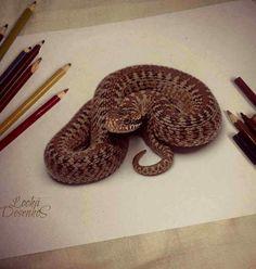 The Very Best 3D Pencil Sketch Art
