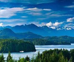 Vancouver Island, British Columbia - A playground for kayakers, hikers, and whale-watchers, Vancouver Island is covered in stately pine forests that shelter endangered birds and surrounded by waters. It's a short ferry (or seaplane) ride over from the city of Vancouver.