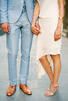 Engagement shoot outfit ideas