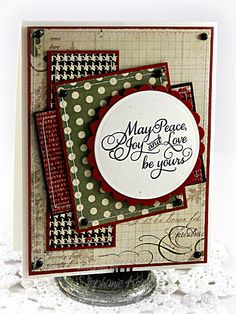 Peace, Love & Joy by booga3 - Cards and Paper Crafts at Splitcoaststampers