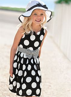 Polka Dot Style...She is adorable!
