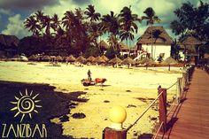 Zanzibar and sun