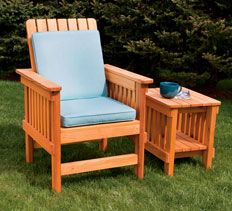 That Efficiency, Along With The Casual Look Of An Adirondack/Morris Chair  Hybrid, ...