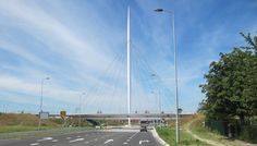 elevated bicycle roundabout, Netherlands