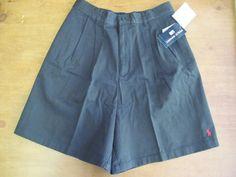 Ralph Lauren Polo Sport Shorts Dark Brown Size 8 Misses