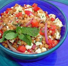 Lebanese Lentil Salad Recipe