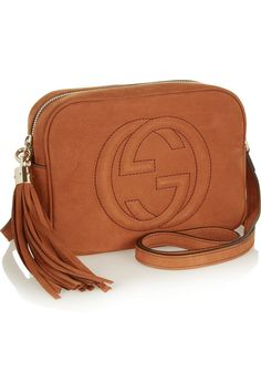 GucciSoho small nubuck shoulder back (such a throwback!)
