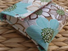 Mini Cloth Envelope System with 8 envelopes by JessJPHomemade on Etsy