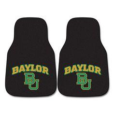 Baylor Bears NCAA Car Floor Mats (2 Front)