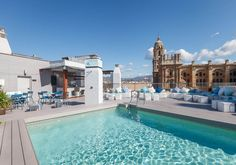 La Piscina Lounge de día #piscina #málaga #lapiscinalounge    http://www.hotelmolinalario.com/es/piscina-lounge/