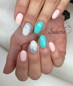 Nails • Nägel • Nageldesign • Salsera Nails & Lashes • Frankfurt am Main • Fullcover • Multicolor • Glitzer