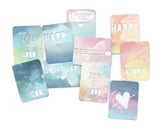Heidi Swapp Color Magic Cards with Magic Medium @heidiswapp @beckyhigginsllc #projectlife #hsprojectlife