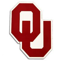University of Oklahoma!!  This was the new OU emblem, around 1971 to 1972.