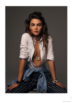 Bambi Northwood Blyth is Rock Chic for Black Shoot by Thom Kerr