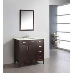"661 Wayfair.com Simpli Home 36"" Urban Loft Bathroom Vanity"