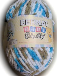 Bernat  Blanket Yarn LITTLE TEAL DOVE 04735 by dcoyshouseofyarn