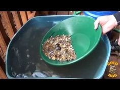 Gold Panning Tips and Gold Panning How To - YouTube ~ Good demonstration on how to maneuver pan for beginners.