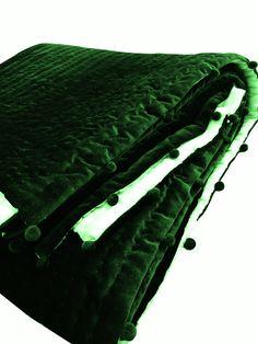 Green Blanket, Green Quilt, Blue Quilts, Green Comforter, Velvet Bedspread, Emerald Green Weddings, King Size Duvet Covers, Queen Size Quilt, Gifts For Wedding Party
