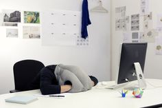 Ostrich Pillow :OSTRICH offers a micro environment in which to take a warm and comfortable power nap at ease. It is neither a pillow nor a cushion, nor a bed, nor a garment, but a bit of each at the same time