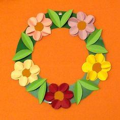 kreatív ötletek gyerekeknek tavaszra - Google keresés Creative Crafts, Diy And Crafts, Arts And Crafts, Art N Craft, Craft Work, Candy Crafts, Paper Crafts, Flower Crafts, Flower Art