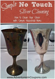 Simple No Touch Silver Cleaning - How to Clean Your Silver with Simple Household Items!