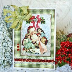 Christmas card, In My Little Korner