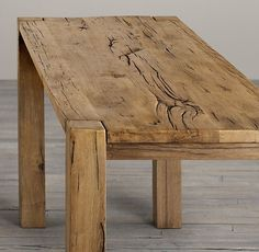 woodworking ideas | Parsons Russian Oak Counter Table