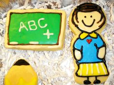Teacher cookies I made for Courtney