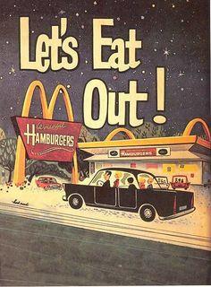 Vintage McDonalds Ad