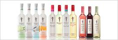 hi oh!  new skinny girl drinks!... skinny pina colada, skinny vodka, and skinny wine!