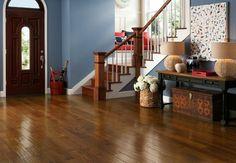 Autumn Blaze Hickory Hardwood Floors by Armstrong