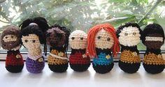 star trek the next generation crochet